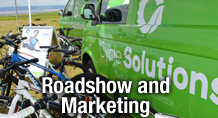 Roadshows and Marketing